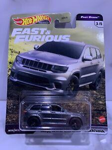 Hotwheels Fast & Furious, Fast Stars Jeep Grand Cherokee Trackhawk 3/5.