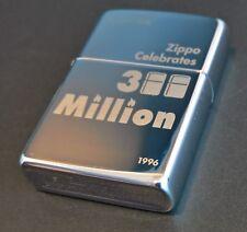 Zippo 300 MILLION Lighter, Limited Edition (Nr. xxx/300) Rarität von 1996