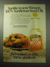 1985 Sunlite Wesson Sunflower Seed Oil Ad