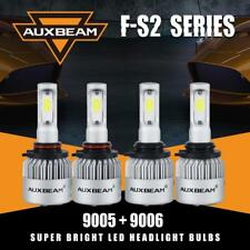Auxbeam 9005+9006 LED Headlight Bulb Kit 6500K Hi/Low Beam for Chevy Tahoe 95-06