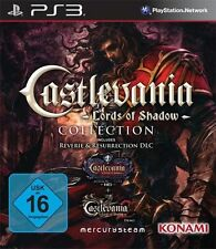 Sony PS3 Playstation 3 Spiel Castlevania 1+2 Lords of Shadow Collection *NEU*NEW