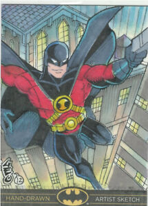 DC Comics Batman: The Legend Artist Sketch Card  - from Cryptozoic