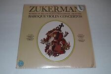 Zukerman~Baroque Violin Concertos~Vivaldi~Nardini~Leclair~Columbia~FAST SHIPPING