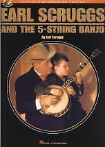 EARL SCRUGGS & THE 5 STRING BANJO Book & CD