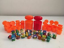 The Trash Pack Lot of 28 Trashies with Bonus Trash Can Storage Containers