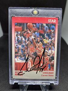 1991 Star Company Chicago Bulls SCOTTIE PIPPEN Autograph Card Premium 1/100
