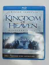 Kingdom of Heaven Director's Cut 2005 Blu-ray Disc Ridley Scott Film