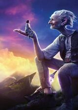 BFG Big Friendly Giant TEXTLESS  A4  printed movie poster