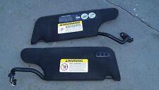 1996-2006,1997,98, Chrysler Sebring Convertible LH&RH sun visors  w/ Homelink #2