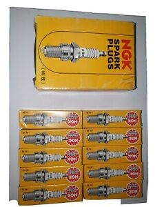 10x NGK Copper Core Spark Plug BU8H (6431)