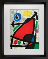 Joan MIRO Original Ltd Lithograph, 1970 +Cat. Ref c.134 w/Frame
