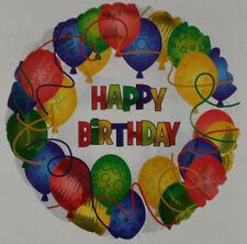 "CTI Ballons - Happy Birthday - Festive Balloons - Two Sided - 17"""