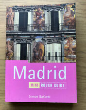 Mini Rough Guide book, Madrid, 2000