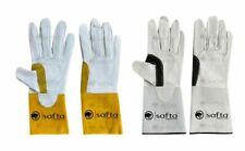TIG Welding Gloves Soft Goatskin Leather Gauntlets Welders Gloves Pair 1, 2, 5