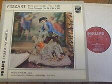 SGL 5813 Mozart Piano Concertos Nos. 19 & 26 / Haebler