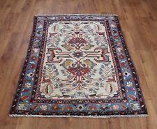 Traditional Vintage Wool Handmade Classic Oriental Area Rug Carpet 149X 99cm