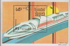 Cambodge Bloc 163 (complète edition) neuf avec gomme originale 1989 roulant