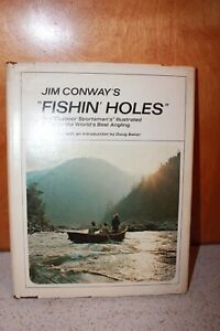 """Jim Conway's """"Fishing Holes"""" Signed Copy 1969"""