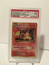 PSA 9 Charizard Holo #11 Expansion 20th Anniversary CP6 Pokemon Card 1st ED