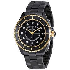 Chanel J12 Quartz Black Ceramic Unisex Watch H2544