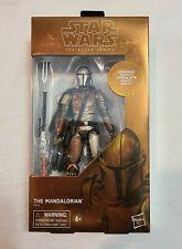 "Hasbro Star Wars Black Series Carbonized Mandalorian 6"" Figure Exclusive"