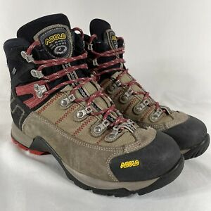 Men's ASOLO Fugitive GTX Gore-Tex Waterproof Hiking Leather Boots Size 9 US