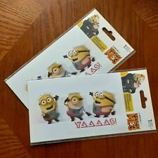 NEW DESPICABLE ME 3 DECAL Sticker ~ SET of 2 ~ YAAAAS! ~ MINIONS