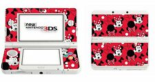 Minnie Mouse Skin Sticker for Nintendo 3DS (with C Stick) 3ds7