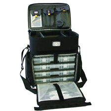 Calcutta CT1010WC 4 Tray Fishing Tackle Bag Med includes 4 360 boxes