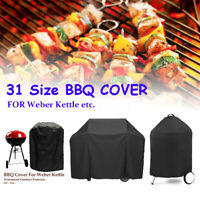 31 Sizes BBQ Cover Gril Barbeque Kettle Protector For Weber Dust Waterproof +3