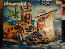 NEW Playmobil Pirate Ship and Bastion Play Set # 5919-149 Pieces Retired