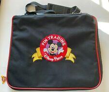 Accessory Disney Parks Pin Trading Bag 2013 Large Mickey W/ Strap No Pins 97726