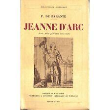 Barante (P. de) - Jeanne d'Arc.