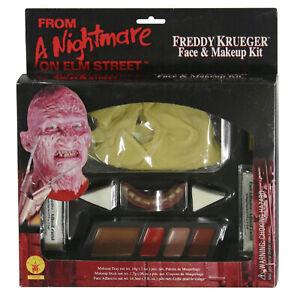 A Nightmare On Elm Street Freddy Krueger Face and Makeup Kit