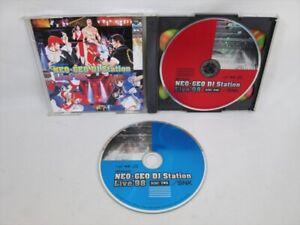Véritable Combat Fatal Fury snk Acoustique CD Original Son Piste Import Japon