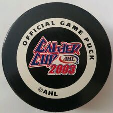 2003 CALDER CUP HOCKEY OFFICIAL GAME PUCK RARE INGLASCO MADE IN CANADA AHL