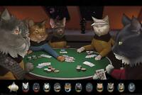 Star Trek Poster Cats Poker 91,5 x 61 cm