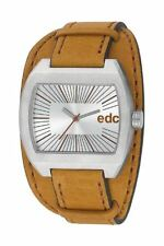 Esprit Edc TOUGH BELT - TOBACCO BROWN Herrenuhr Edelstahl Silber EE100821002