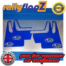 SUBARU IMPREZA classico (93-01) GC8 PARAFANGHI 4mm PVC blu con stelle giallo