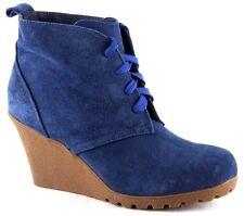 Andrea Conti Winter Stiefel Stiefelette Schuhe Echt Leder Gr.41 Blau 2675
