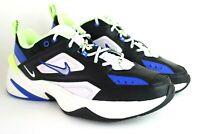 Nike M2K Tekno Size 11.5 Black Metallc Silver/Barely Volt CI2969 002 Shoes New