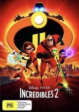 INCREDIBLES 2 DVD NEW & SEALED- FREE POSTAGE! REGION 4