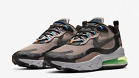 NIKE AIR MAX 270 REACT - UK 10/US 11/EUR 45 - SEPIA STONE/BLACK (CD2049-200)
