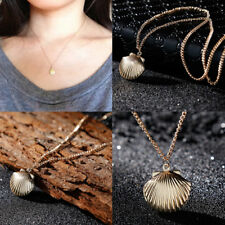 Small Fresh Necklace Sea Shell Pendant Necklace Women Clavicle Chain Jewelry