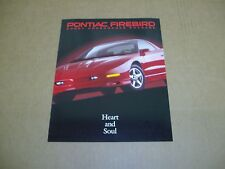 1996 Pontiac Firebird Sport Appearance Package sales brochure dealer sheet