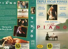 THE PIANO - Sam Neil - VHS - PAL -NEW - Never played! - Original NZ release