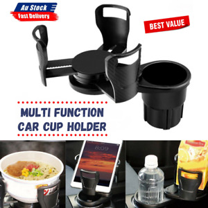 Multi Function Car Drink Cup Holder Coffee Bottle Water Stand Food Storage Mount