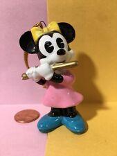 Minnie Mouse Christmas holiday ornament Walt Disney character figurine Japan