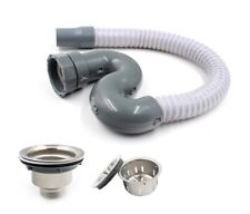 Sink Drain with Hair Filter and Waste outlet with Basket