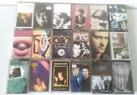 Cassette Tape Bundle Job lot 80s 90s Pop indie alternative X 18 collection #3